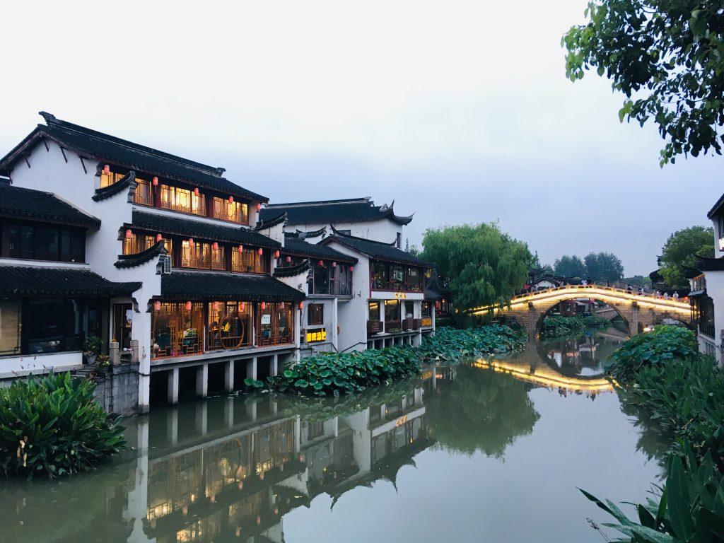 Scorcio di Quibao, quartiere nella parte occidentale di Shanghai, visitato durante i primi giorni del nostro itinerario di 12 giorni in Cina