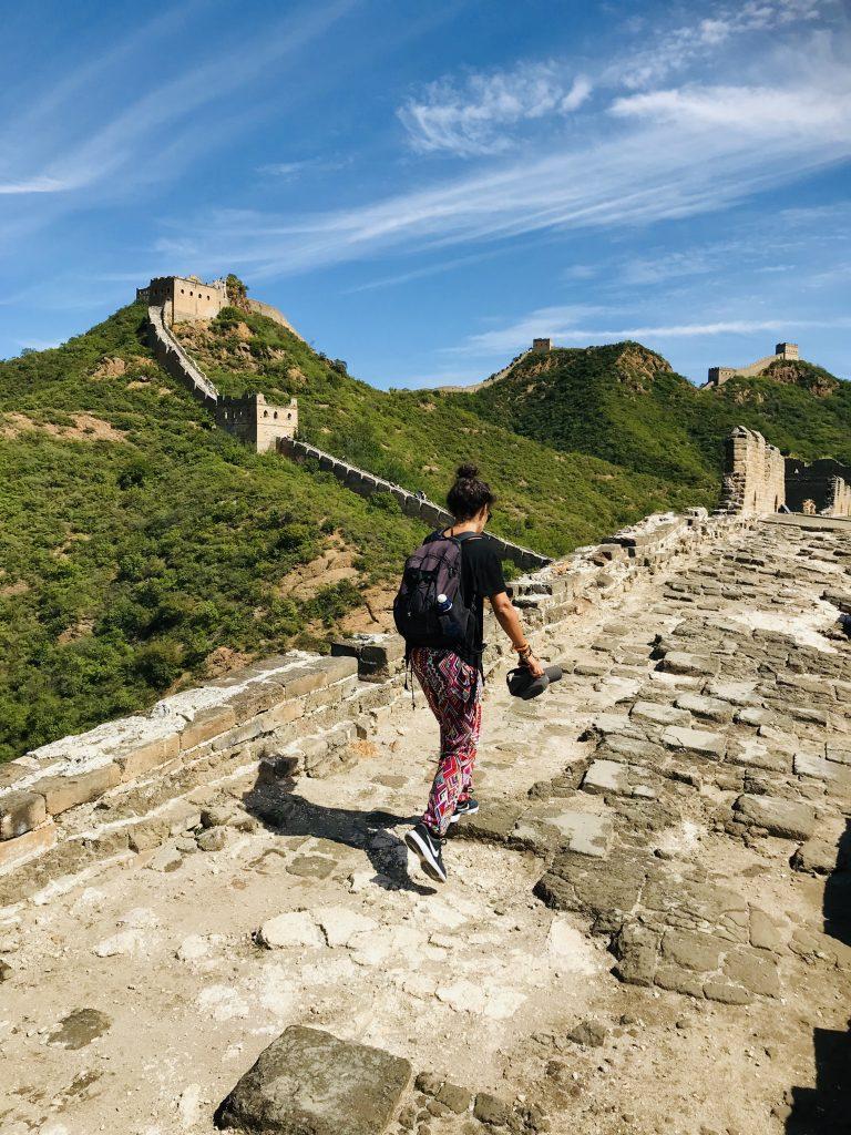 Immancabile in un itinerario di 12 giorni la Grande muraglia. Questa è Jinshaling