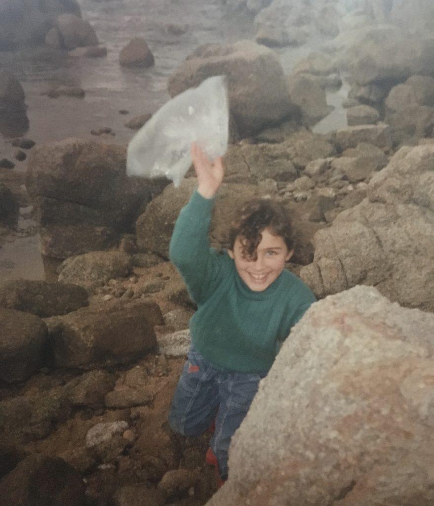 potevo fare l'operatore ecologico in giro fin da bambina