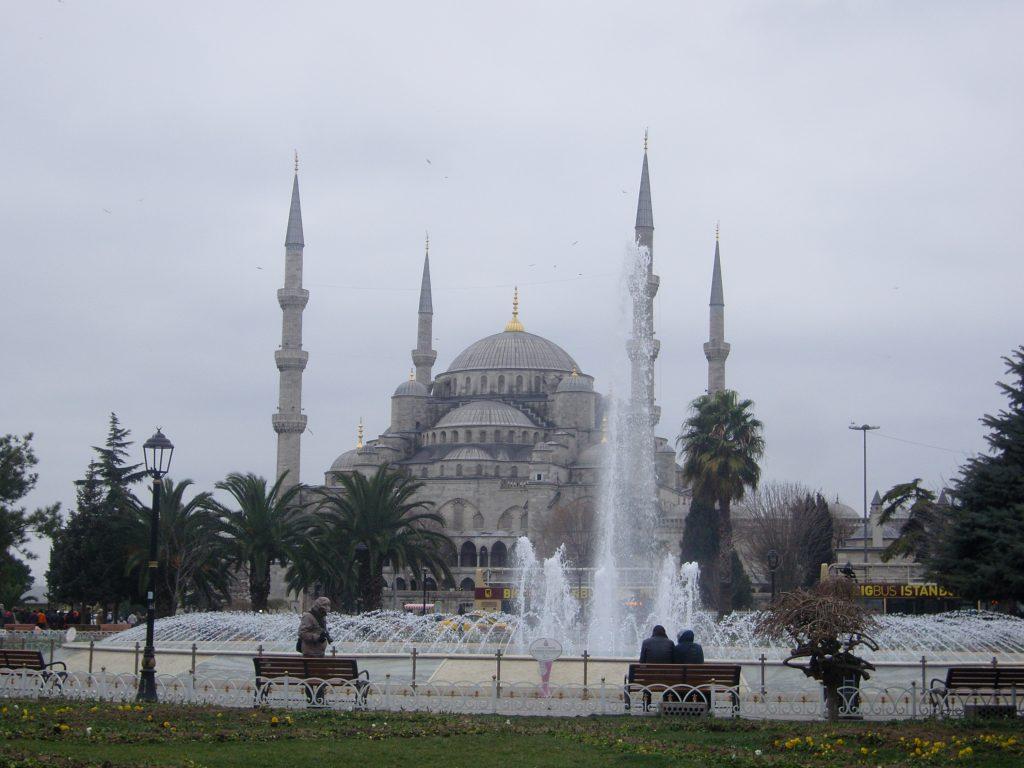 Moschea di Solimano, una delle tante moschee bellissime di Istanbul.