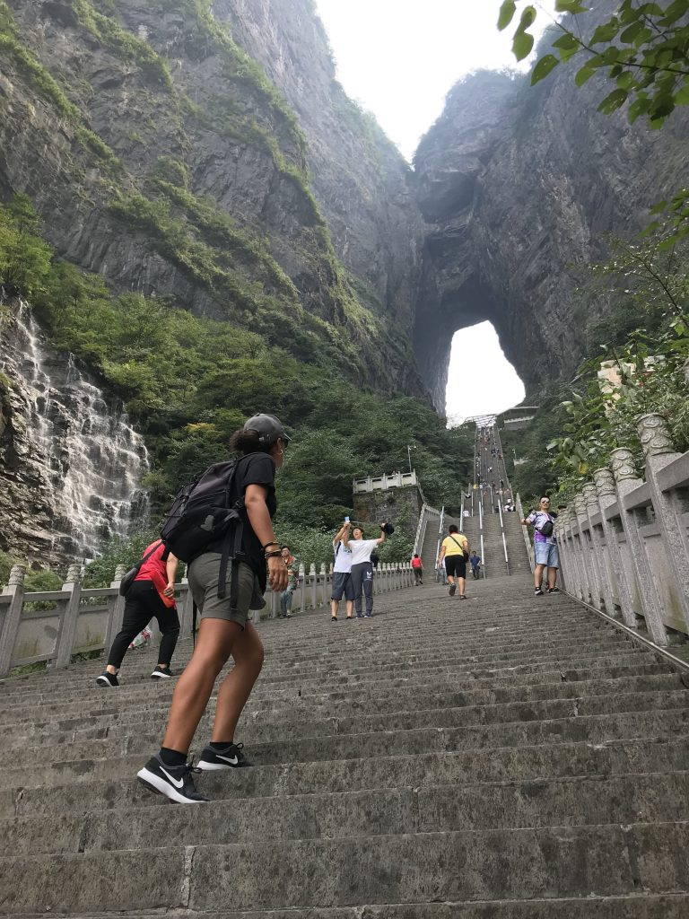 In un itinerario in Cina di 12 giorni non potevo non inserire il monte Tianmen