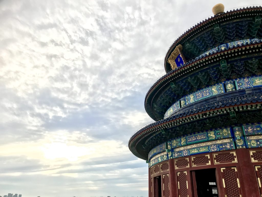 L'itinerario in 12 giorni in Cina comprendeva anche il tempio del cielo
