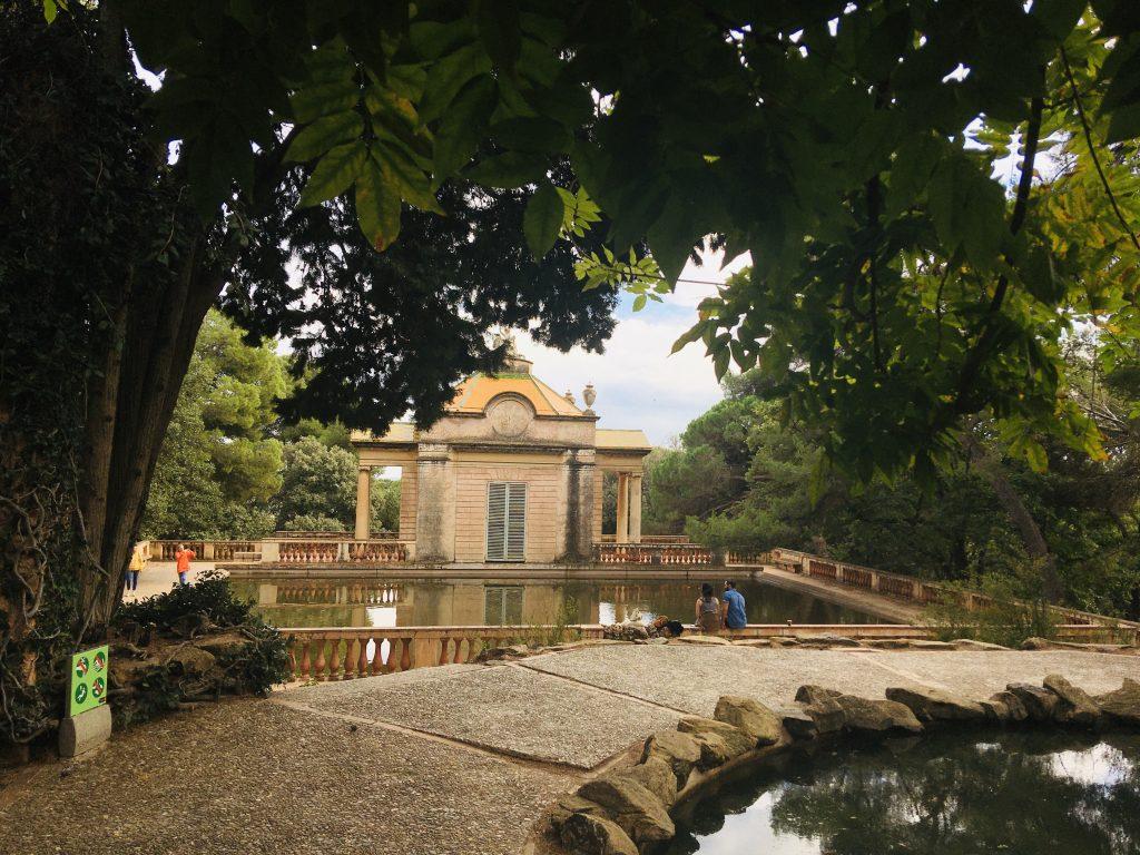 Particolare del parc del Labirint d'Horta