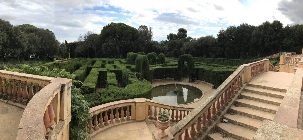 labirinto del parco