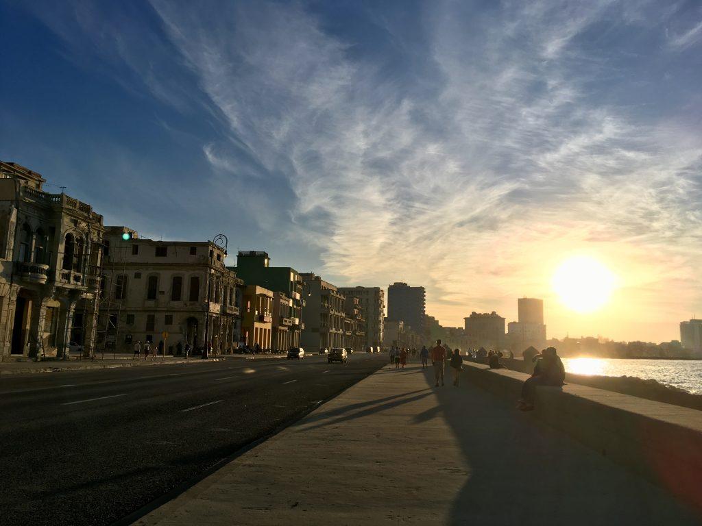 Il malecon, all'havana  itinerario in 12 giorni di Cuba