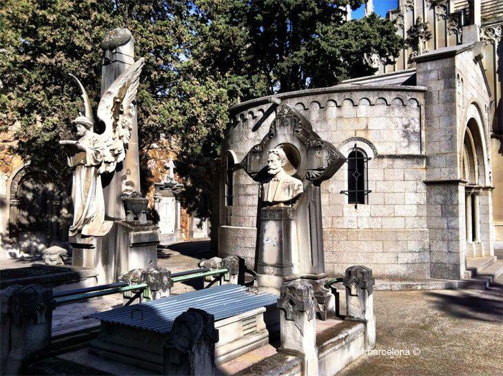 Cimitero monumentale di Montjuic, uno dei 7 luoghi insoliti di Barcellona