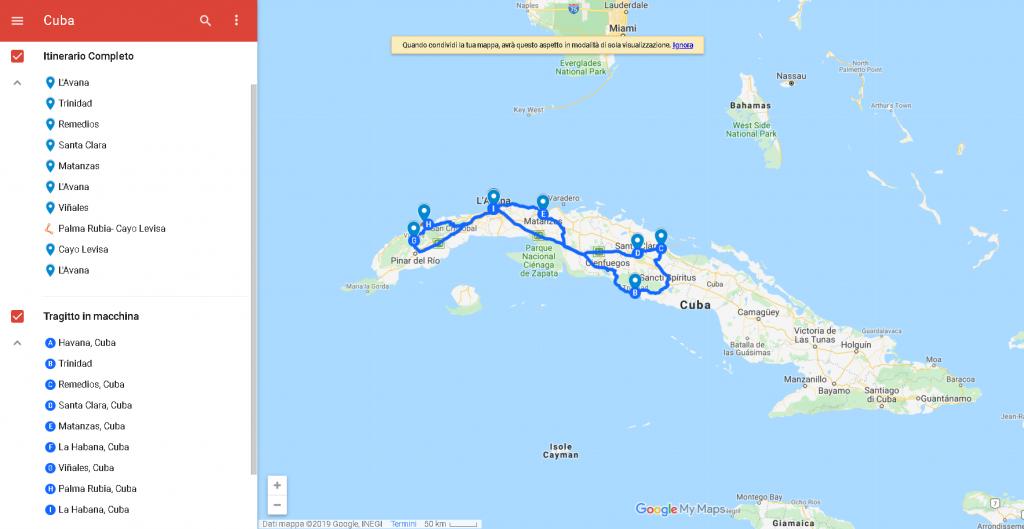 Itinerario Cuba 12 giorni