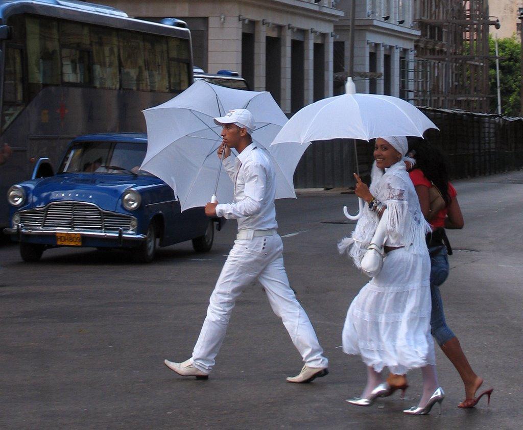I santeros, a L'havana itinerario in 12 giorni a Cuba