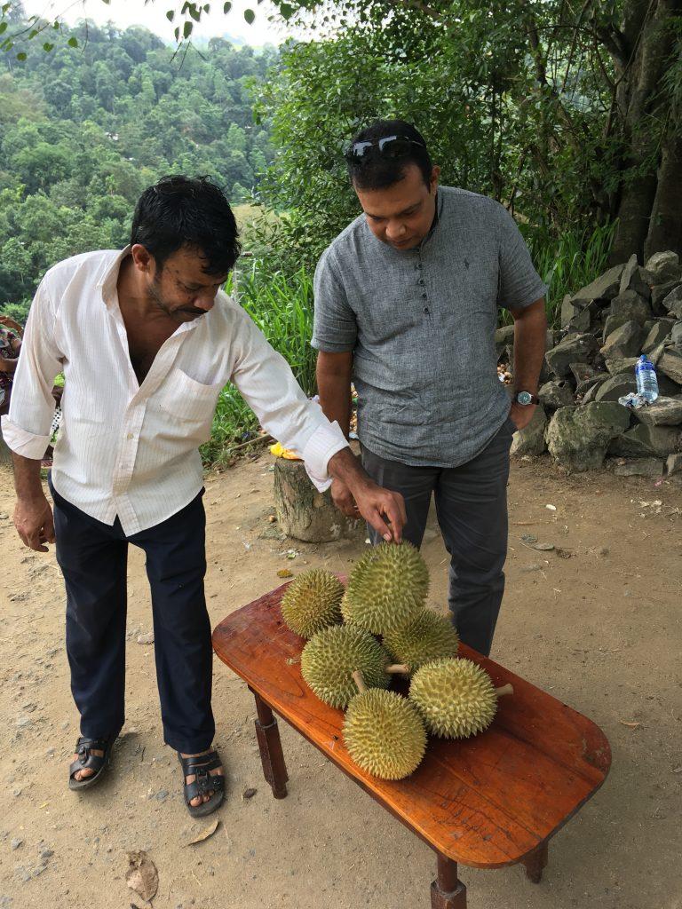 Durian nel nostro itinerario di 13 giorni in Sri Lanka