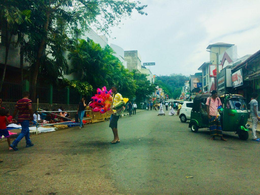 Hesala Perahera tappa dell'itinerario in 13 giorni in Sri lanka