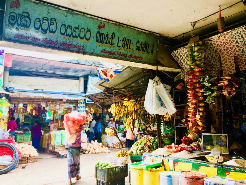 mercato di Nuwara Eliya nel nostro itinerario di 13 giorni in Sri Lanka