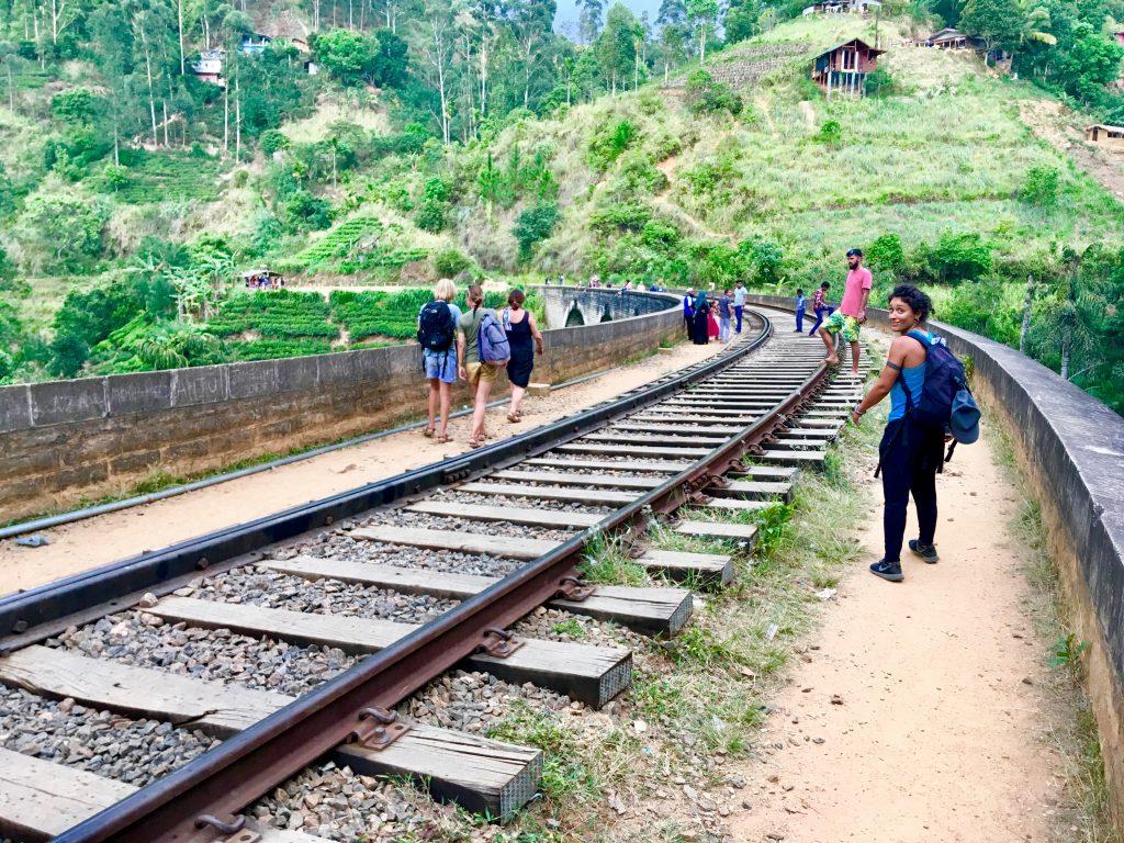Nine arch bridge nel nostro itinerario di 13 giorni in Sri Lanka