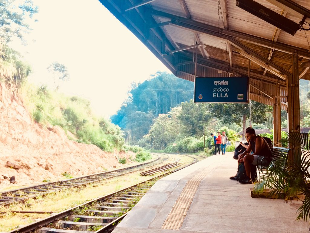Stazione di Ella nel nostro itinerario di 13 giorni in Sri Lanka