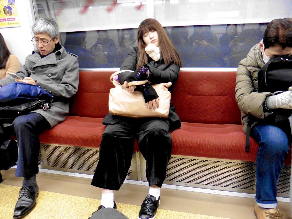 inemuri persone abitudini tradizioni Giappone