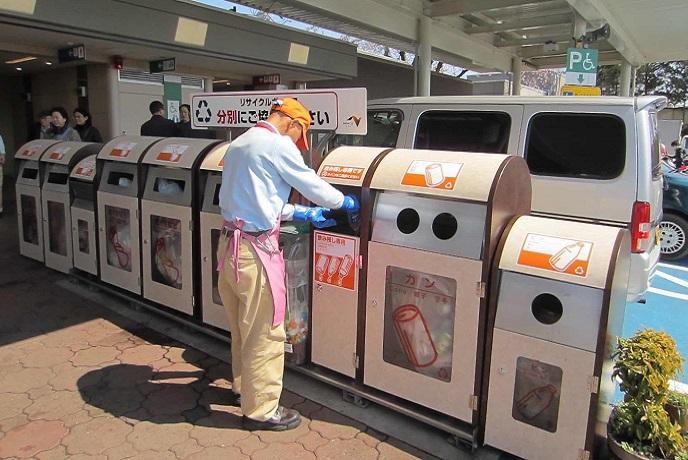 raccolta differenziata Giappone